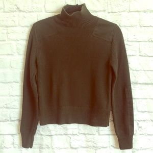 Zara - olive green sweater